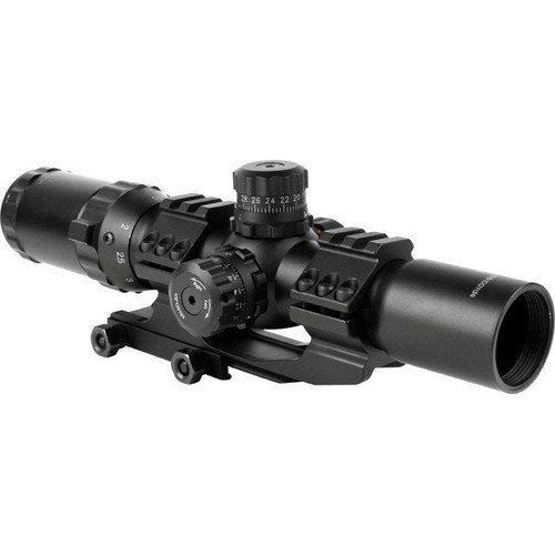 Image of AIM Sports Inc 1.5-4x30 Dual Illuminated CQB Scope w/ Locking Turrets/Mil-Dot Re