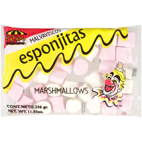 Payaso Malvaiscos Esponjtas Marshmallows, 11.85 oz