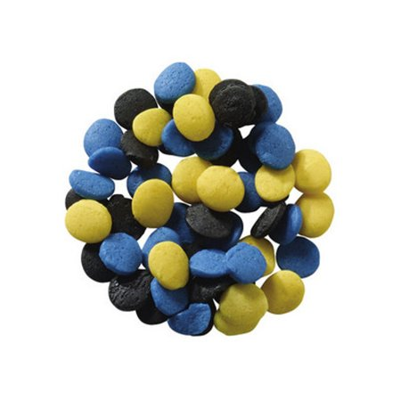 Black, Yellow, & Blue Congratulation Sprinkle Quins - 4 - Yellow Sprinkles