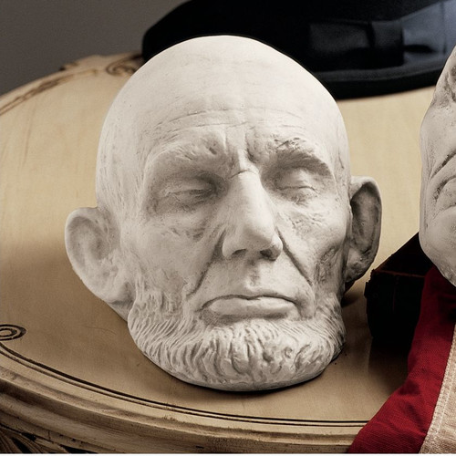 Design Toscano Mills Abraham Lincoln Life Mask Wall D cor