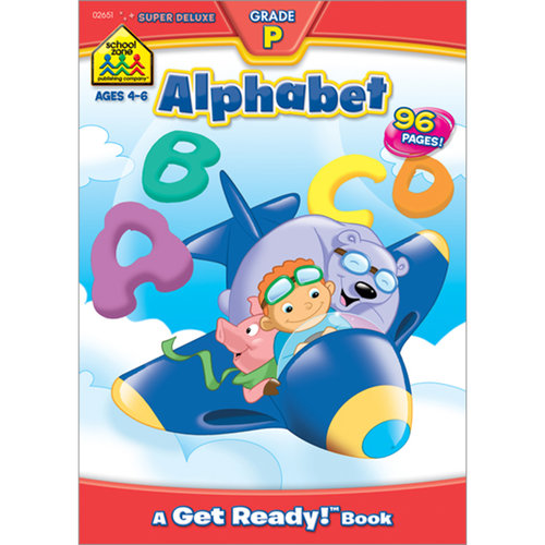 Super Deluxe Workbook, Alphabet, Grade P
