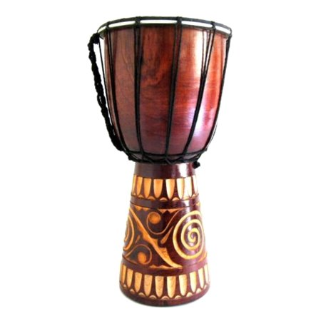 Djembe Drum African Bongo Drum Hand Drum -JIVE BRAND, WORLD BAZAAR, Professional Sound, Handpainted