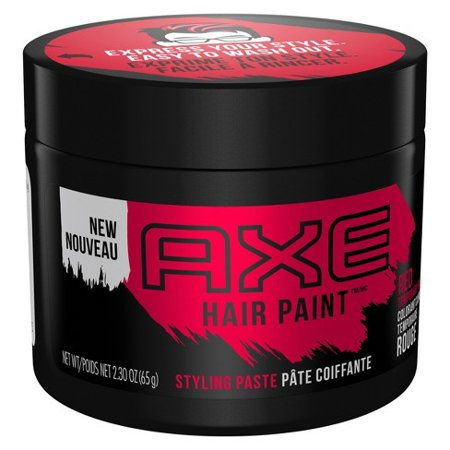 AXE Hair Paint Temporary Color Styling Paste Red 2.3 (Best Mens Hair Color Products)