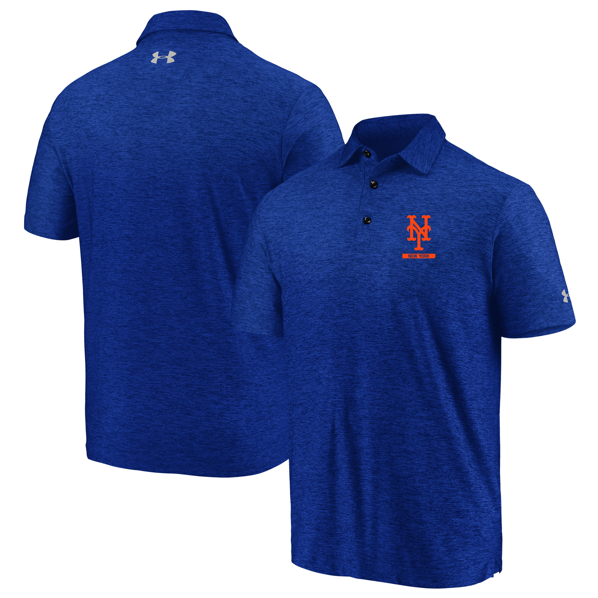 New York Mets Under Armour City Underline Polo - Royal