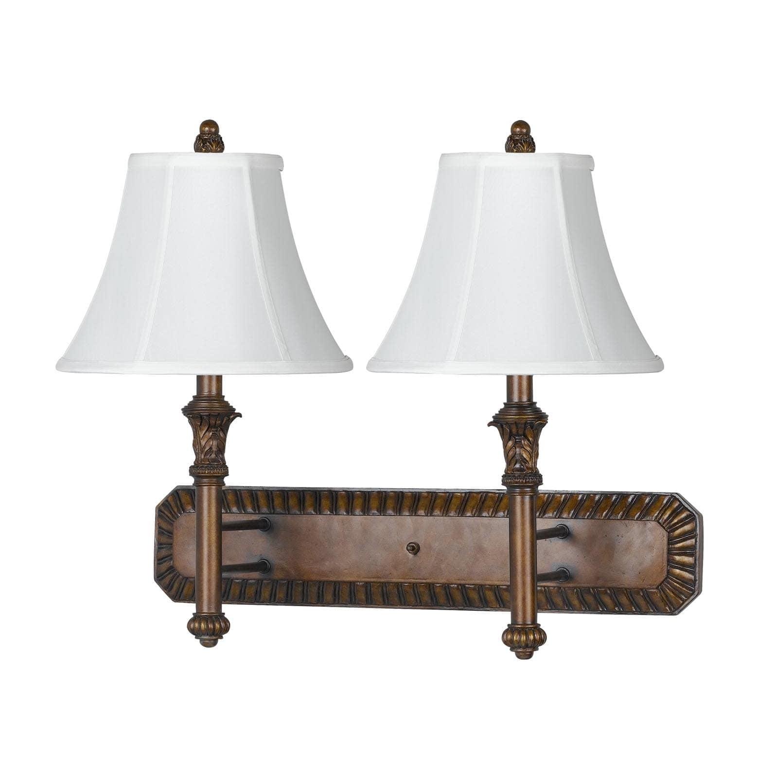 Cal Lighting 60-watt 2-light Wall Lamp by Overstock