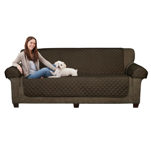 Maytex Waterproof 3 Piece Box Cushion Loveseat Slipcover Set Walmart Com Walmart Com