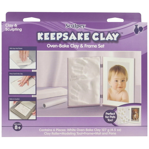 Sculpey Keepsake Memory Frame Kit