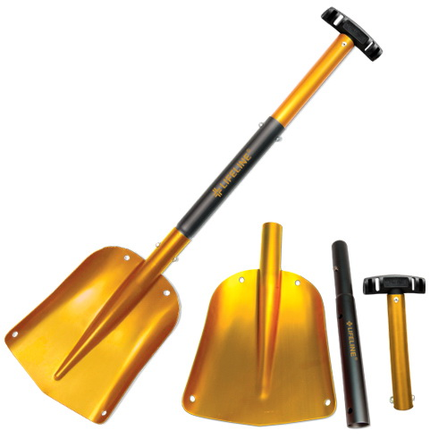 (Price/EACH)Lifeline 4002 Shovel Yellow
