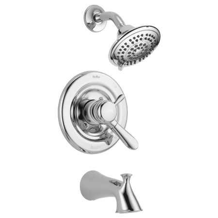 Delta Lahara Monitor® 17 Series Tub & Shower Trim in Chrome T17438 (Delta 2 In 1 Shower)