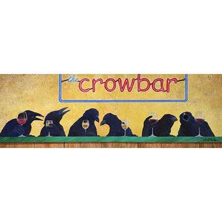 Crow Bar [3 Pack] of Vinyl Decal Stickers | 5