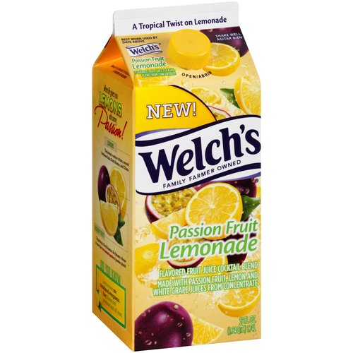 Welch's Passion Fruit Lemonade Flavored Fruit Juice Cocktail Blend, 59 fl oz