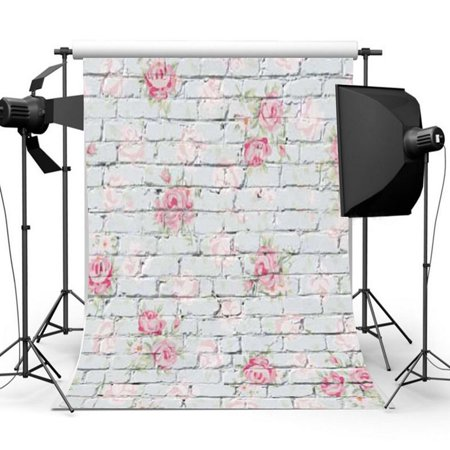 NK HOME Photography Backdrops Vinyl Fabric Studio Photo Video Background Screen Props 10x10ft 8x12.5ft 5x7ft 7x5ft 3x5ft 5x3ft 60+ Colors](Vip Backdrop)