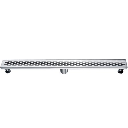 ALFI brand ABLD32C 32 Modern Stainless Steel Linear Shower Drain with