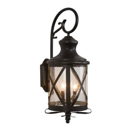 Lorenza Four Lights Incandescent, Oil Rubbed Bronze