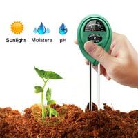 3 in 1 Soil PH Tester Sunlight Soil Moisture Meter Detector Plant