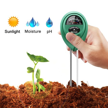 3 in 1 Soil PH Tester Sunlight Soil Moisture Meter Detector