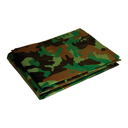 Foremost Dry Top 8 ft. x 10 ft. Medium Duty Polyethylene Tarp Camouflage