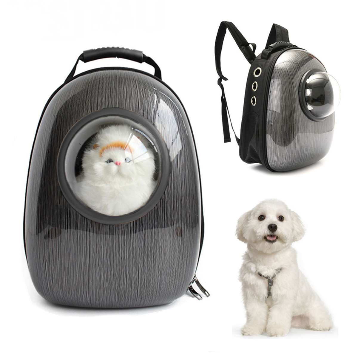 Dog Puppy Cat Pet Travel Outdoor Carrier Shoulder Bags Backpack Breathable Shoulder Bag Mobile Bed Winter House Small Medium