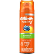 Gillette Fusion5 Ultra Sensitive Shave Gel, 7oz