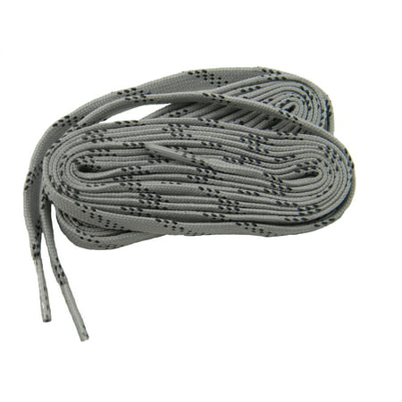 30e14629298434 Greatlaces.com - 2 Pair Pack - 63 Inch 160 cm Grey w  Black proTOUGH Work  Boot Hiker shoelaces reinforced with Kevlar - Walmart.com