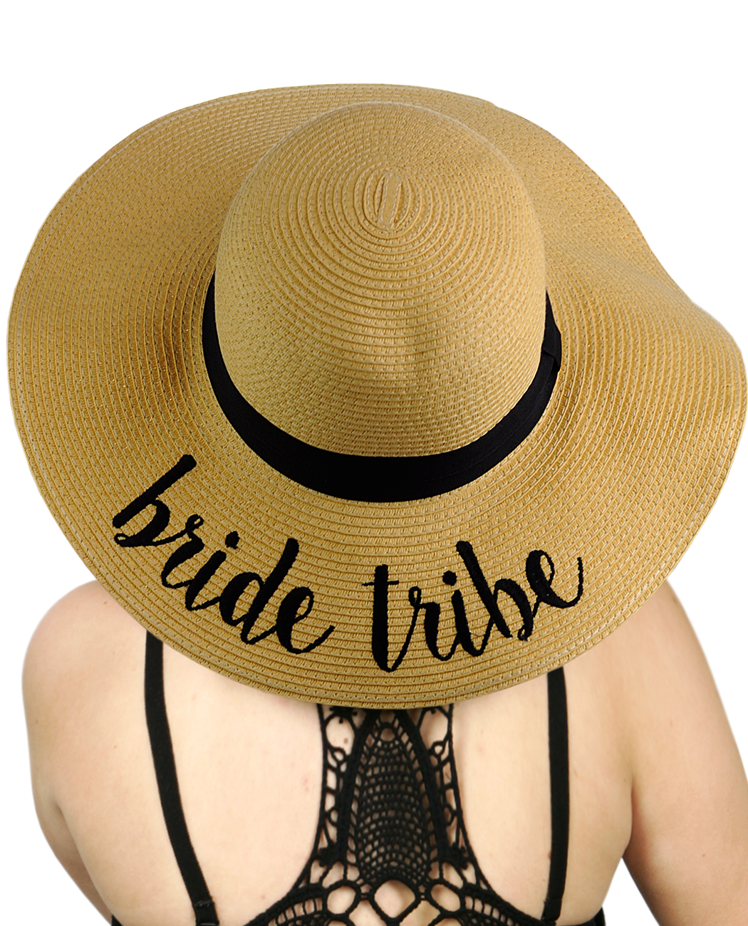 C.C - C.C Women s Paper Weaved Crushable Beach Embroidered Quote Floppy  Brim Sun Hat a4ae849ec6d