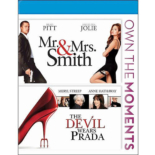 Mr. And Mrs. Smith / The Devil Wears Prada (Blu-ray) (Widescreen)