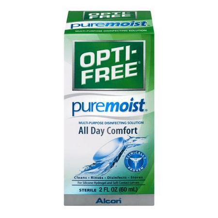Opti-Free Pure Moist Multi-Purpose Contact Solution, 2 Oz Opti-Free Pure Moist Multi-Purpose Contact Solution, 2 Oz.