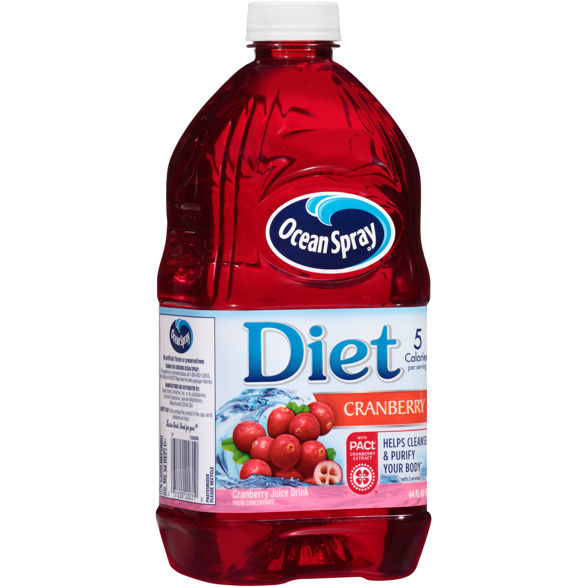 Ocean Spray Diet Cranberry Spray Juice, 64 Fl Oz
