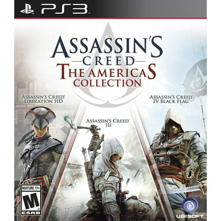 Assassin's Creed: The Americas Collection, Ubisoft, PlayStation 3,