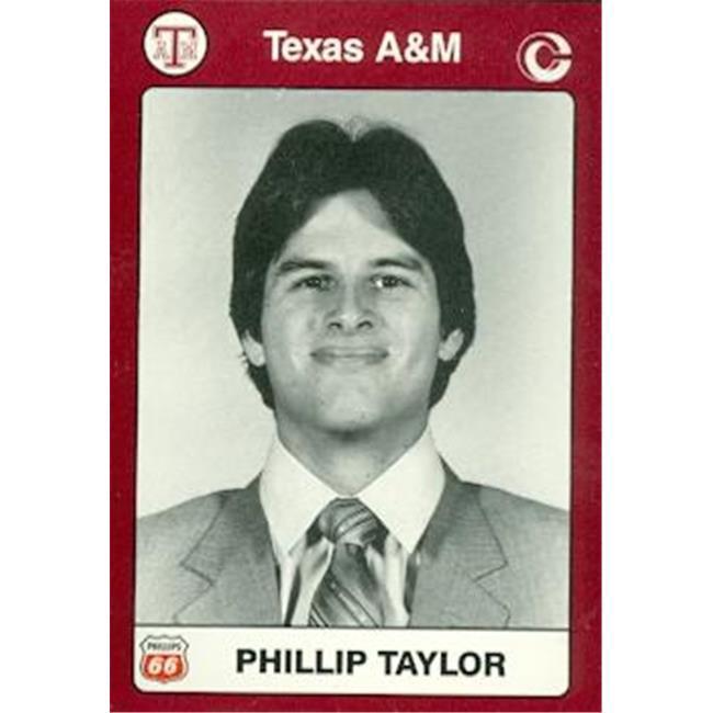 Phillip Taylor Baseball Card (Texas A&M) 1991 Collegiate Collection No. 42