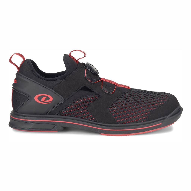 Dexter Mens Drew Bowling Shoes Black//Red