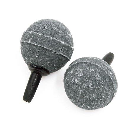 2 Pieces 25mm Fish Tank Accessories Decoration Ceramic Air Stone