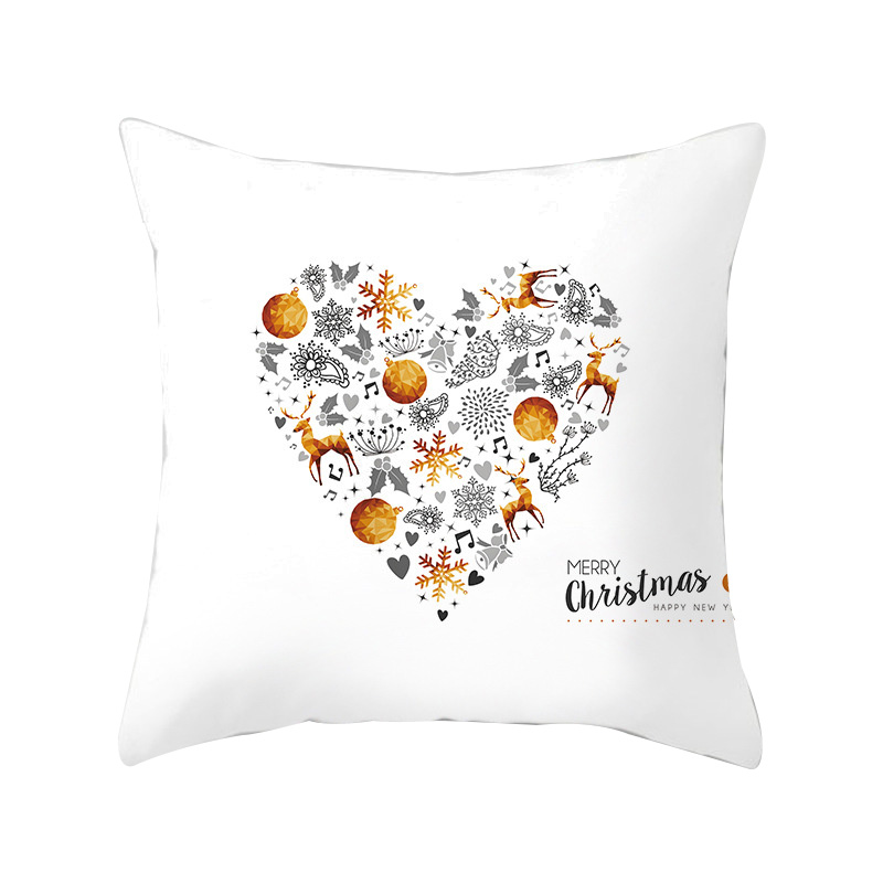 Funcee 45*45cm Christmas Decorative Throw Pillow Cases Cushion Covers