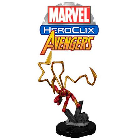 - Marvel HeroClix: Avengers Booster Pack, 5 randomly packed figures with character cards By WizKids