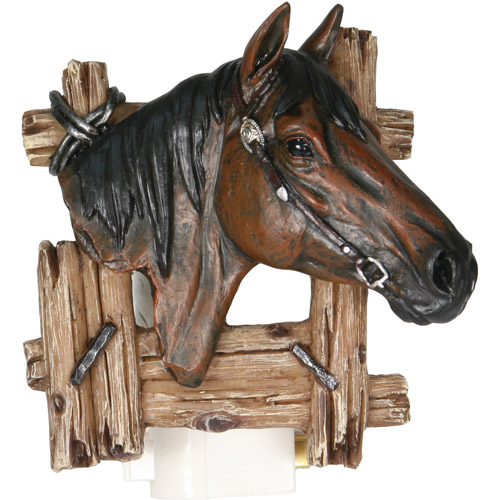 Rivers Edge Products 3D Horse Night Light