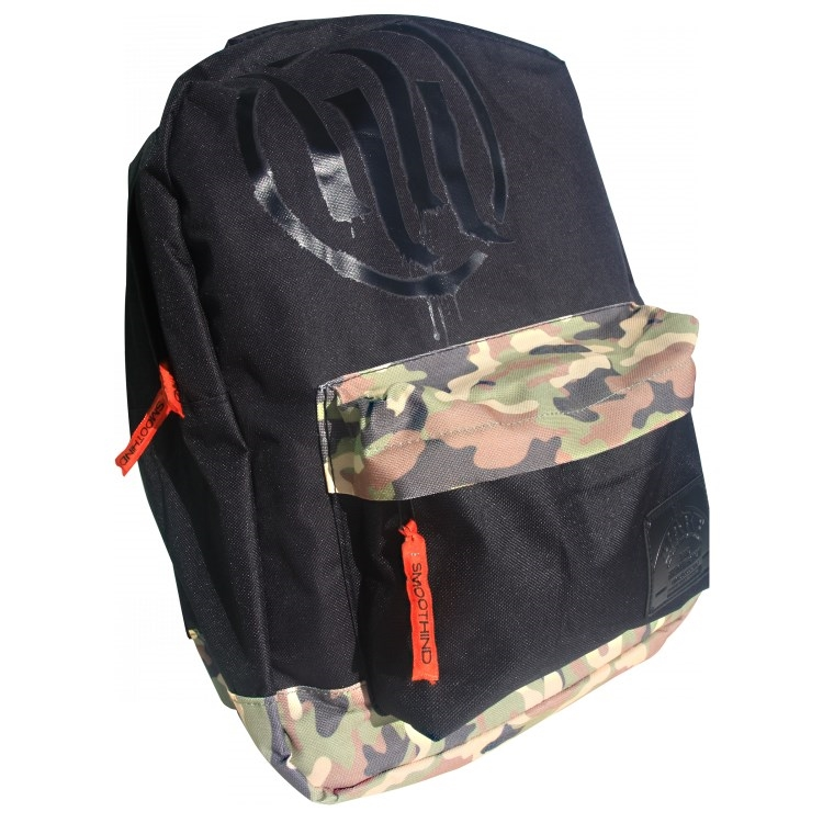 Smooth Industries Hart and Huntington Camo Backpack Camo/Black/Orange