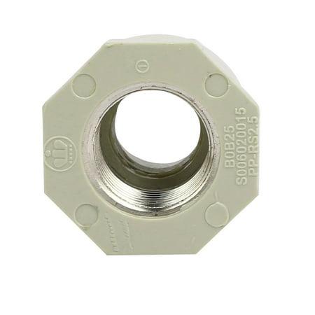 Unique Bargains 1/2BSP Metal Female Thread PPR Pipe Connector