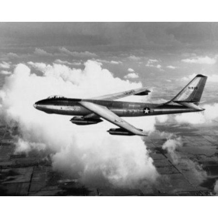 High angle view of a fighter plane in flight B-47 Stratojet Poster Print](Foo Fighters Halloween Poster)