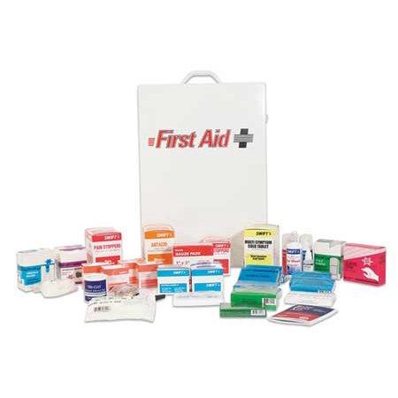 SWIFT 68400GRR First Aid Kit, Bulk, White, 20 Pcs, 200 Ppl