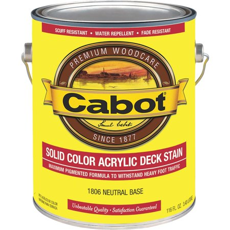 Cabot Solid Color Acrylic Deck Stain Cabot Deck Stain Colors