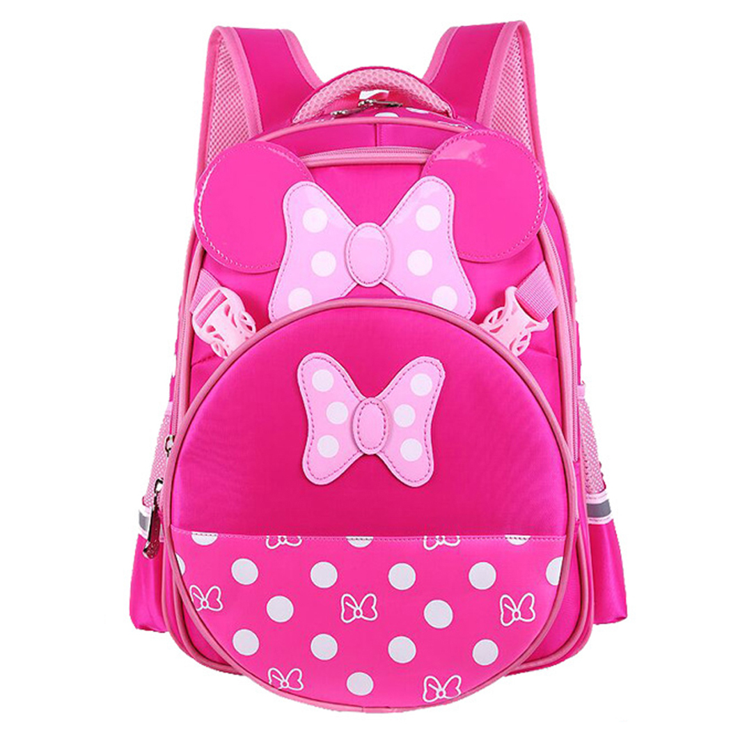 School Backpack, Coofit Reflective Straps Daypack Casual Backpack Bookbag for Primary School Students Girls Kids