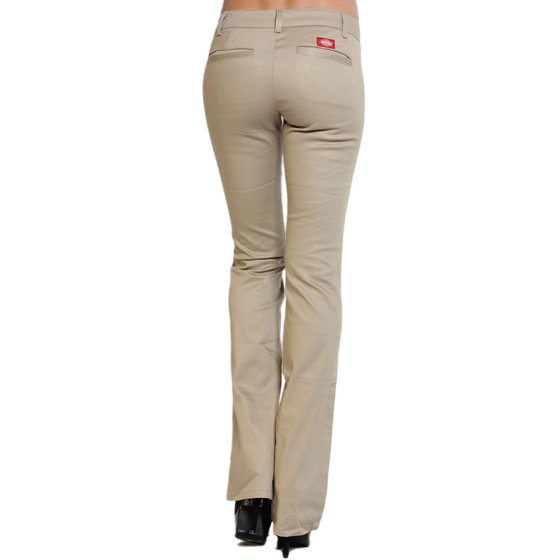 3d2d24e3a0746 TheMogan - TheMogan Junior's Dickies Girl Slim Fit Bootcut Leg Mid ...