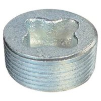 APPLETON ELECTRIC PLG-100R Recessed Plug,HazLoc,Steel,1In