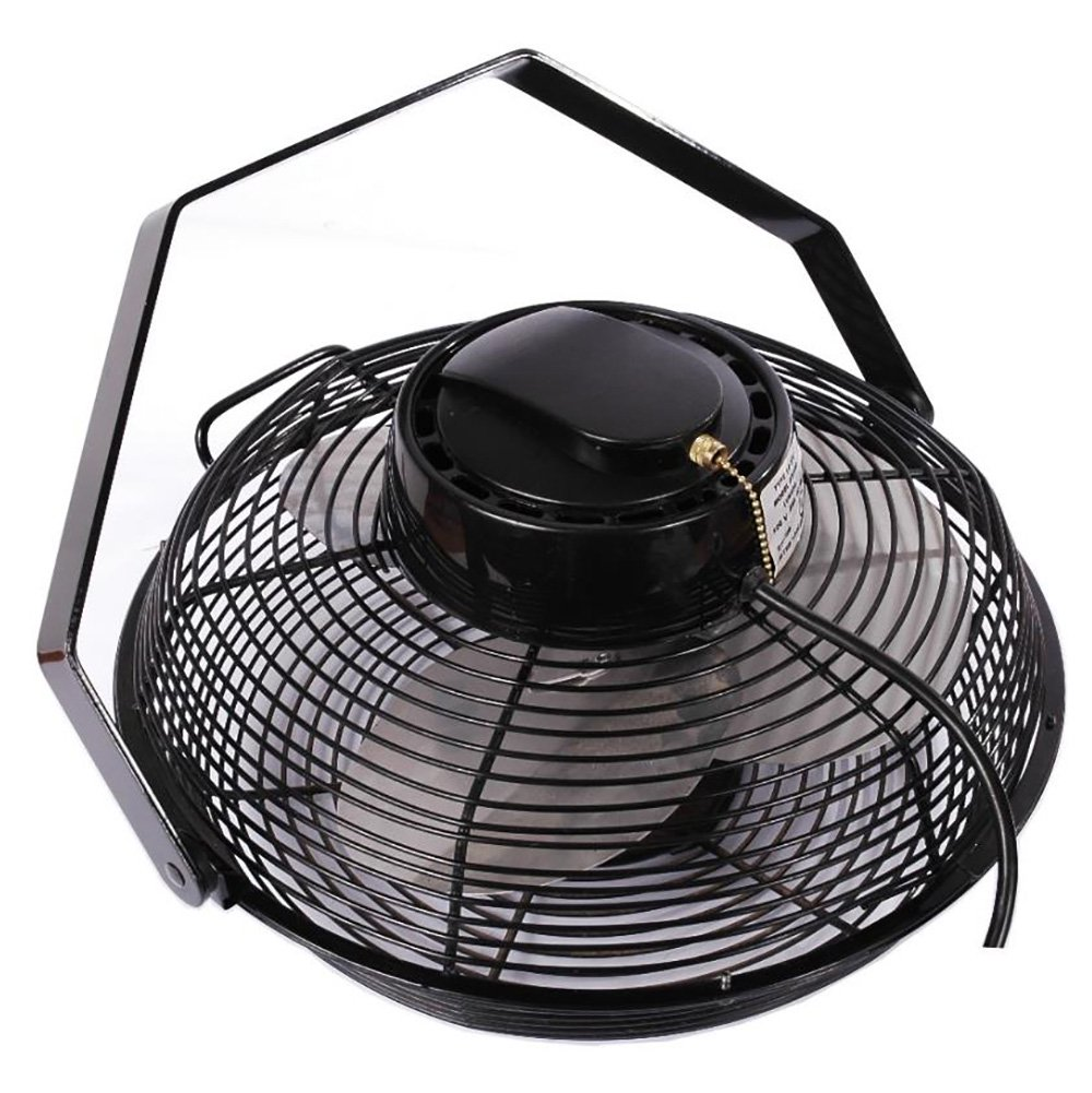 "Air King 14"" 1/20 HP 3-Speed Totally Enclosed Pivoting Head Multi-Mount Fan"