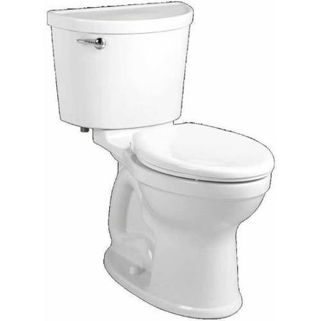 """American Standard 211AA.104.020 Champion Pro Two-Piece Right Height Elongated 1.28GPF Toilet with 12"""" Rough-In, Available in Various Colors"""