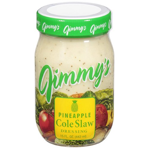 Jimmy's: Pineapple Cole Slaw Salad Dressing, 15 Fl Oz
