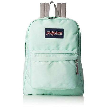 JanSport JS00T5010RC: Superbreak Brook Green Ultralight Classic Backpack (Green Jansport Backpack)