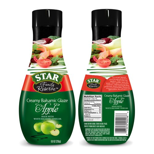 Star Family Reserve Creamy Balsamic Apple Glaze, 8.8 oz