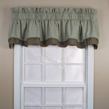 Ellis Curtain Logan Check Bradford Valance