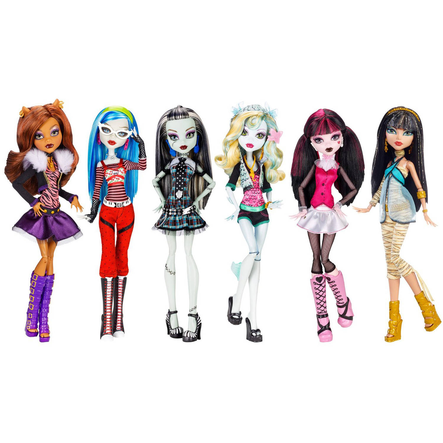 Monster High Original Dolls, 6-Pack
